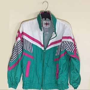 Vintage 80s / 90s windbreaker jacket